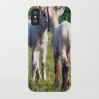 silence of the lambs iPhone & iPod Cases featuring Spring Lambs by Valann