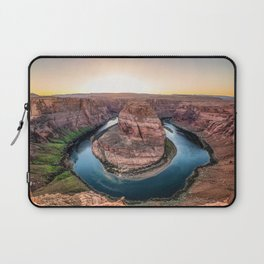The Bend - Horseshoe Bend During Southwestern Sunset Laptop Sleeve
