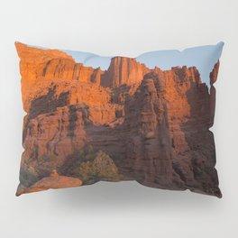Sunset in Fisher Towers, Moab, Utah Pillow Sham