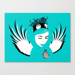 lost angel Canvas Print