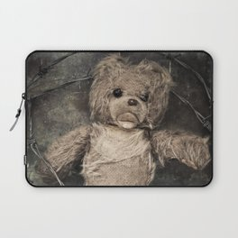 trapped teddy bear Laptop Sleeve