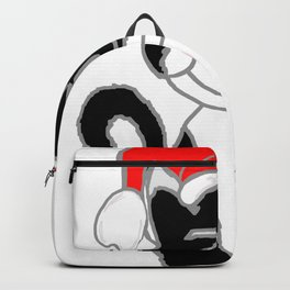 Christmasy Cat Backpack