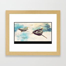 "Talmarran Cruiser - ""Climb-out"" Framed Art Print"