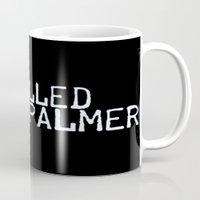 laura palmer Mugs featuring I Killed Laura Palmer by Laura E.