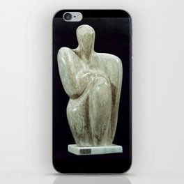 The Philosopher by Shimon Drory iPhone Skin