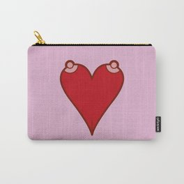 Liar. You say love, but you mean sex. Carry-All Pouch