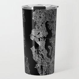 Seattle map Travel Mug