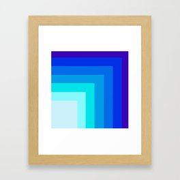 Square by square Framed Art Print
