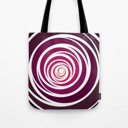 Spinnin Round Crimson Tote Bag