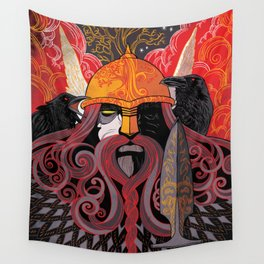 Odin Wall Tapestry