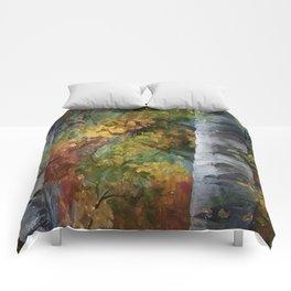 Birch Trees - III Comforters