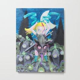 Girl Ever After Metal Print