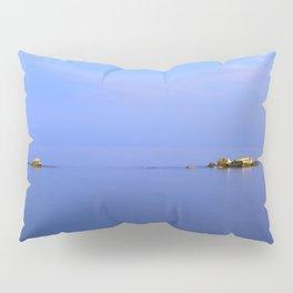 San Cristobal Reefs. Blue hour Pillow Sham