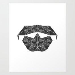 lowpolycyberdog Art Print
