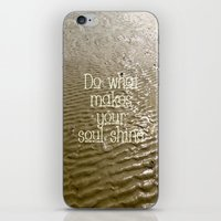 soul iPhone & iPod Skins featuring Soul by Alice Gosling