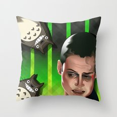 In space no one can hear you scream Throw Pillow