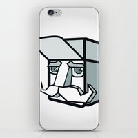 the dude iPhone & iPod Skins featuring DUDE by Serhiy FE