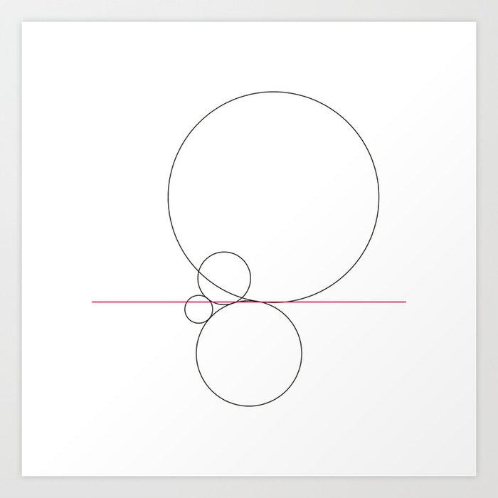 424 Balance Geometry Daily Art Print By Tilmn