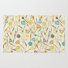 Kitchen Utensils Rug