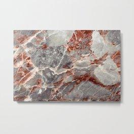 Marble Texture 84  Metal Print