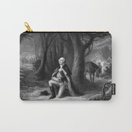 General Washington Praying At Valley Forge Carry-All Pouch