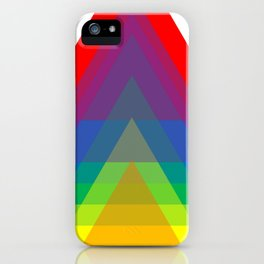 Rainbow Up! iPhone Case