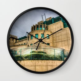 Secret Service Building London Wall Clock