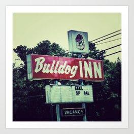 Bulldog Inn Art Print