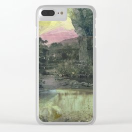 Pond Color Study no.2 Clear iPhone Case