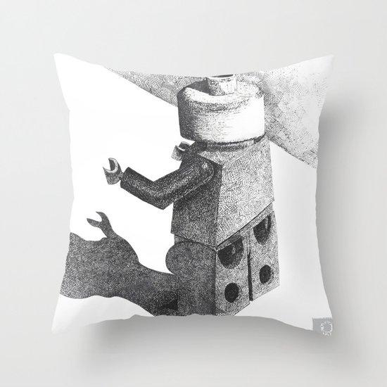 So Long Legoman Throw Pillow