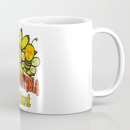 Unbelievable Assistant  Sunflowers and Bees Coffee Mug