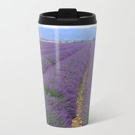 Lavander Metal Travel Mug