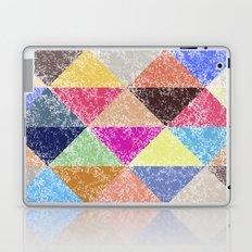 Color texture, Geometric background #2 Laptop & iPad Skin