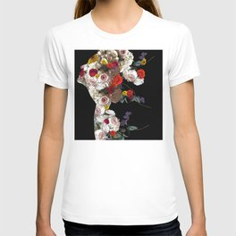 Flowers inside me T-shirt