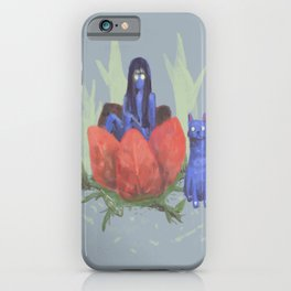 fairy and kitten iPhone Case