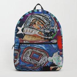JJ WATT PAINTING PRINTS BY SATORU KON ART Backpack
