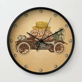 Intelligent Car Wall Clock