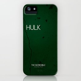 The Incredible Hulk iPhone Case