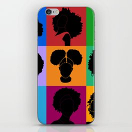 FOR COLORED GIRLS COLLECTION COLLAGE iPhone Skin