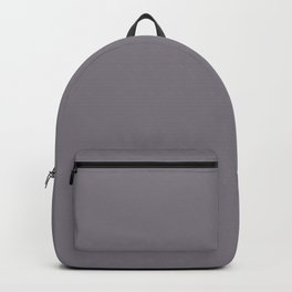 Tinted Mid-tone Grey Solid Color Pairs Coloro 2021 Color Of The Year Accent Shade Good Gray Backpack