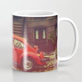 Old red beetle.. Coffee Mug