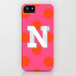 N is for Nice iPhone Case