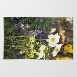 Papaver in the Garden  //  The Botanical Series Rug