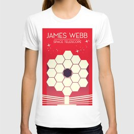 james webb space telescope, T-shirt