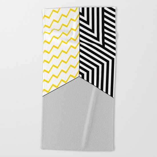 Geometric Circle #2 Beach Towel