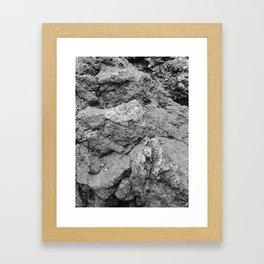 Rocky rocks Framed Art Print