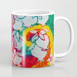 Leaves on the World Tree: Armenian Pomegranate Coffee Mug