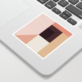 Abstraction_Colorblocks_001 Sticker