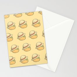 Orange Straw Hat Stationery Cards
