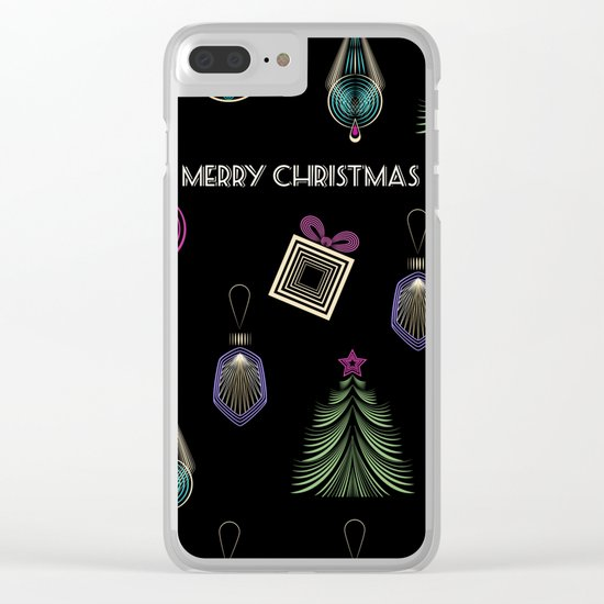 Getting ready for Christmas. Gifts! Clear iPhone Case